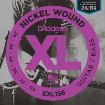 D´addario EXL156 XL Guitar/Bass cuerdas de guitarra/bajo